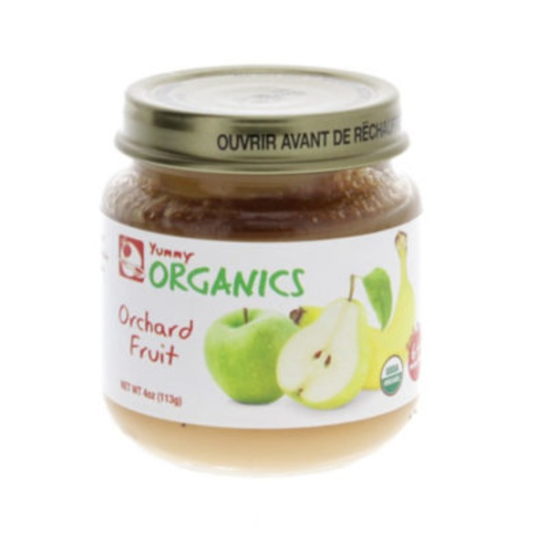 Yummy Organics 2nd Foods Orchard Fruit Baby Food