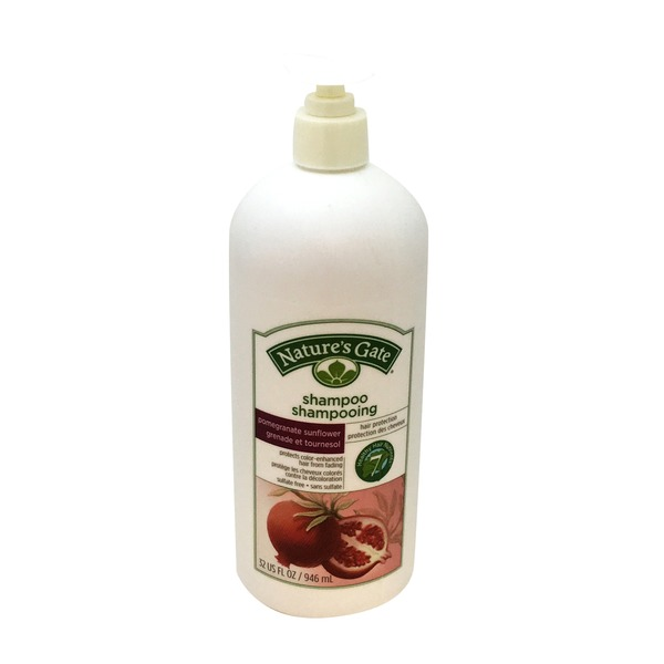 Nature's Gate Pomegranate Sunflower Shampoo