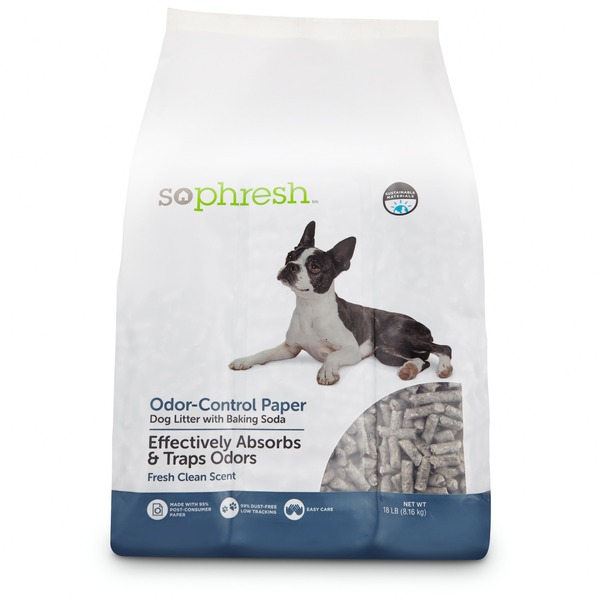 So Phresh Dog Litter With Odor Control Paper 18 Lbs.