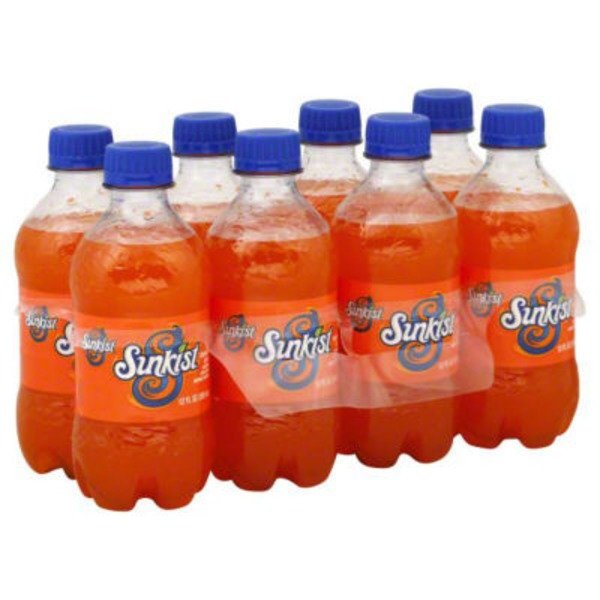 Sunkist Orange Regular CSD