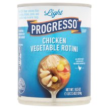 Progresso? Light Chicken Vegetable Rotini Soup 18.5 oz. Can