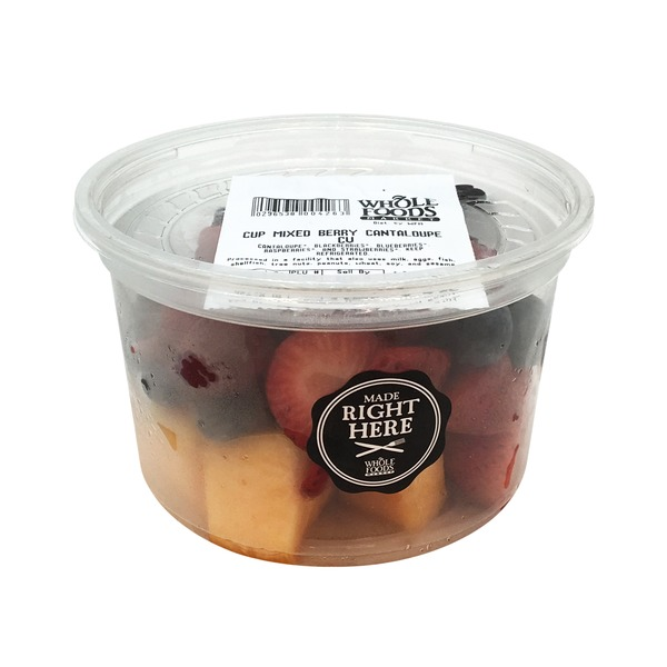 Produce Rwu Mixed Berry And Cantaloupe Cup