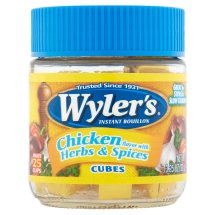 Wyler's Instant Bouillon Chicken Herbs & Spices Cubes, 2 Oz