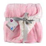 Parent's Choice Royal Plush Blanket, Pink, 30 in X 40 in