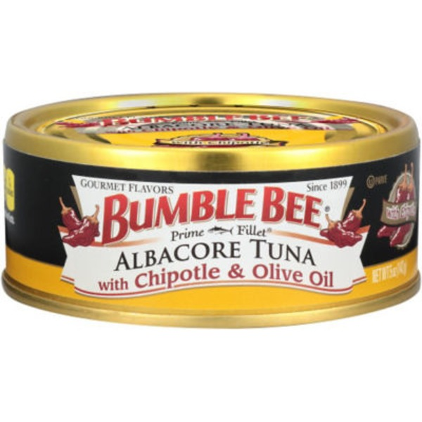 Bumble Bee Gourmet Albacore with Chipotle & Olive Oil Tuna