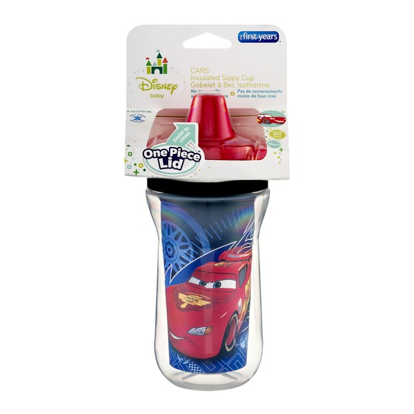 The First Years Cars Insulated Sippy Cup 9 oz