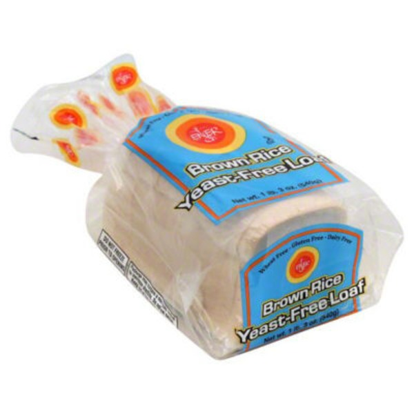 Ener-G Brown Rice Yeast-Free Loaf