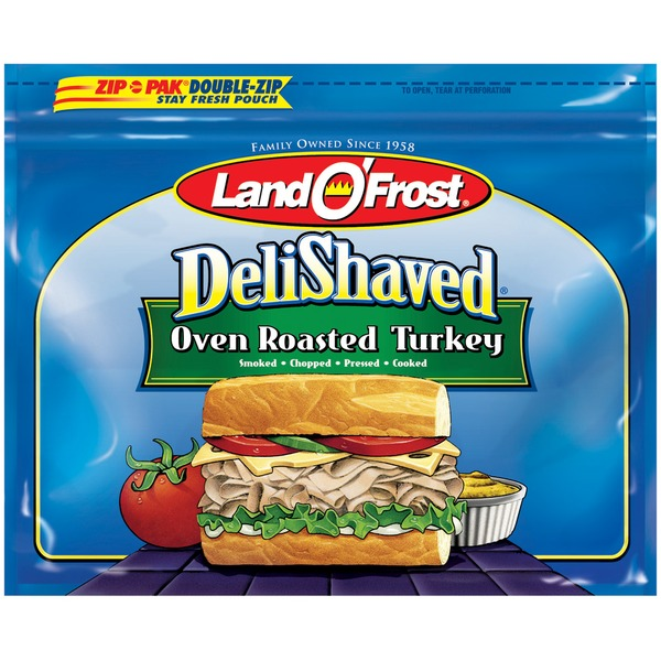 Land O' Frost Deli Shaved Oven Roasted Turkey