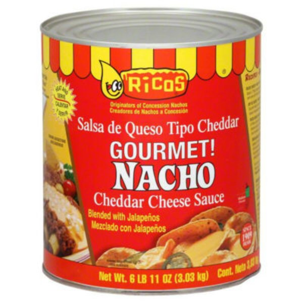 Ricos Gourmet! Nacho Medium Cheddar Cheese Sauce