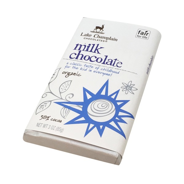 Lake Champlain Chocolates Organic Mlk Chocolate Bar