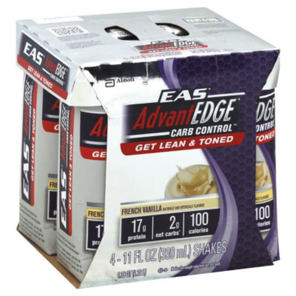 Eas Advantedge Carb Control French Vanilla Shake