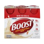BOOST ORIGINAL Complete Nutritional Drink, Vanilla Delight, 8 fl oz Bottle, 6 Pack