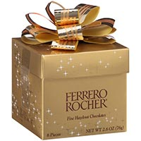 Ferrero Rocher Cube 6 pc