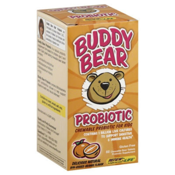 Ultimate Flora Buddy Bear Probiotic
