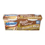 Minute Ready To Serve! Whole Grain Brown Rice Microwaveable - 2 CT