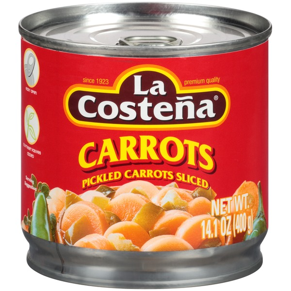 La Costeña Pickled Sliced Carrots