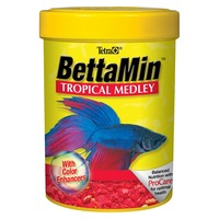 Tetra BettaMin Tropical Medley Flakes
