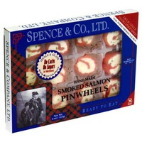 Spence Smoked Fish Smoked Salmon Pinwheels
