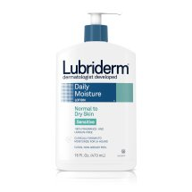 Lubriderm Daily Moisture Body Lotion For Sensitive, Dry Skin, 16 Fl. Oz.