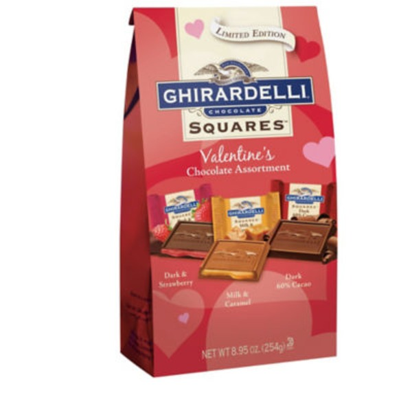 Ghirardelli Chocolate Valentine's Assortment Chocolate