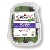 Organic Girl 50/50 Spring Mix & Baby Spinach