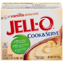 Jell-O Pudding & Pie Filling Cook & Serve Vanilla, 3 Oz