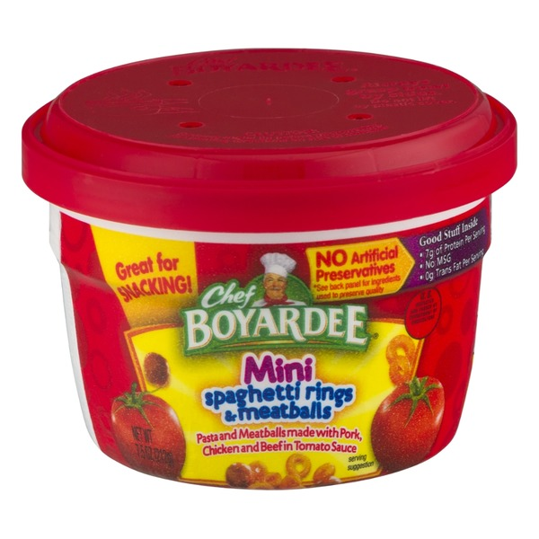 Chef Boyardee Mini Spaghetti Rings & Meatballs