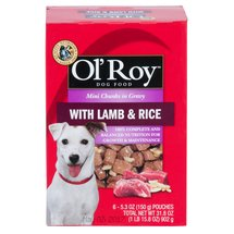 Ol'Roy Lamb and Rice Dog Pouch