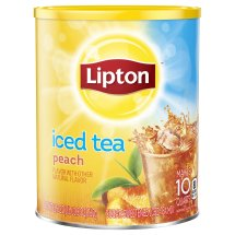 Lipton Drink Mix, Peach, 26.8 Oz, 1 Count