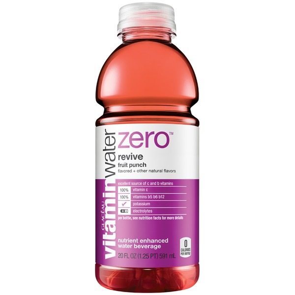 Glaceau Vitaminwater Zero Revive Fruit Punch