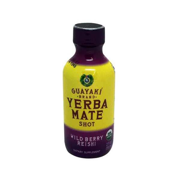Guayaki Wildberry Reishi Yerba Mate Shot