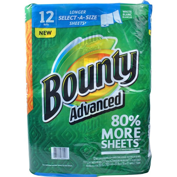 Bounty Basic Advanced Paper Towels