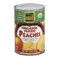 Native Forest Organic Sliced Peaches