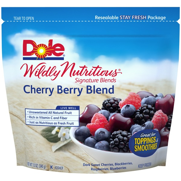 Dole Wildly Nutritious™ Signature Blends Cherry Berry Blend Mixed Fruit