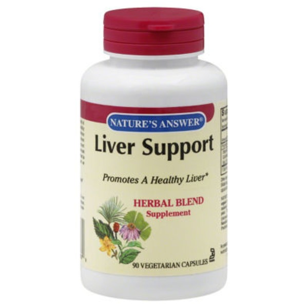 Nature's Answer Liver Support Vegetarian Capsules