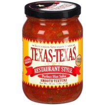 Texas-Texas Restaurant Style Perfect Hot Salsa, 16 oz