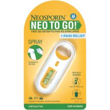 Neosporin To Go Spray, First Aid Antiseptic
