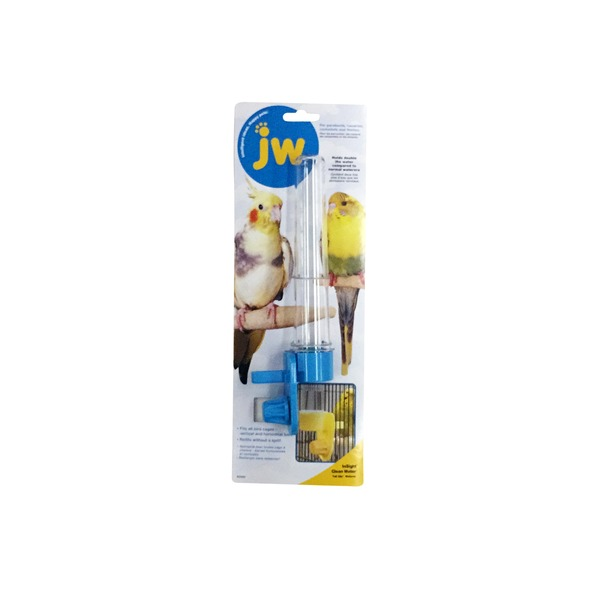 JW Pet Clean Water Silo Bird Waterer