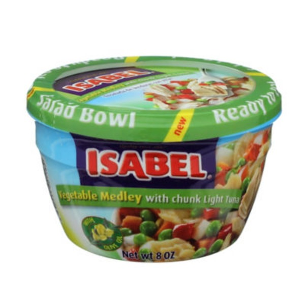 Dona Isabel Vegetable Medley Light Tuna