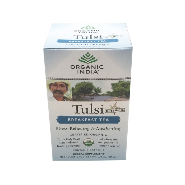 Organic India Tulsi Breakfast Tea