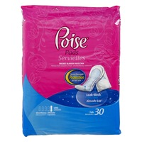 Poise Ultimate Absorbency Long Pads- 30 CT