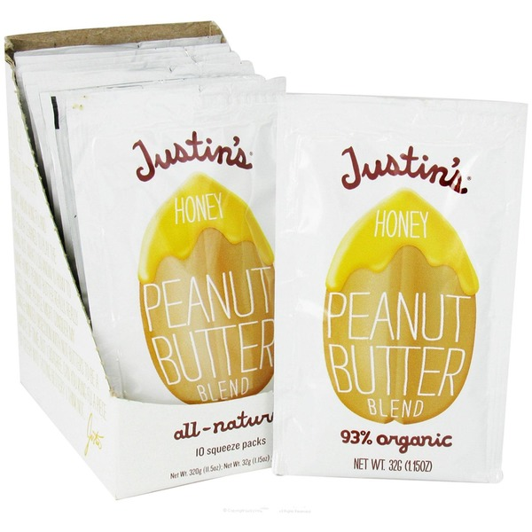 Justin's Peanut Butter Honey Squeeze Pack