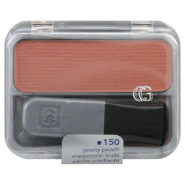 CoverGirl Cheekers COVERGIRL Cheekers Blendable Powder Blush,  Pretty Peach .12 oz (3 g) Female Cosmetics