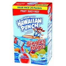 Hawaiian Punch Singles To-Go Drink Mix, Fruity Juicy Red, 1.86 Oz, 8 Packets, 1 Count