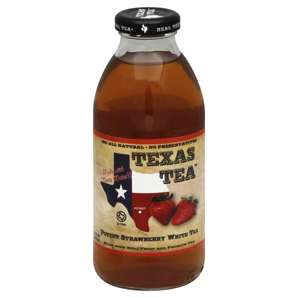 Texas Tea Strawberry White Tea