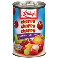 Libby's Cherry Cherry Cherry In Light Syrup Fruit Mix