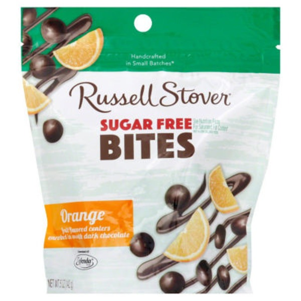 Russell Stover Sugar Free Orange Bites