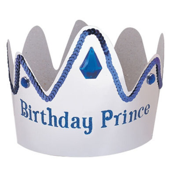 Unique Birthday Prince Crown
