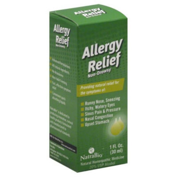 NatraBio Non-Drowsy Allergy Relief
