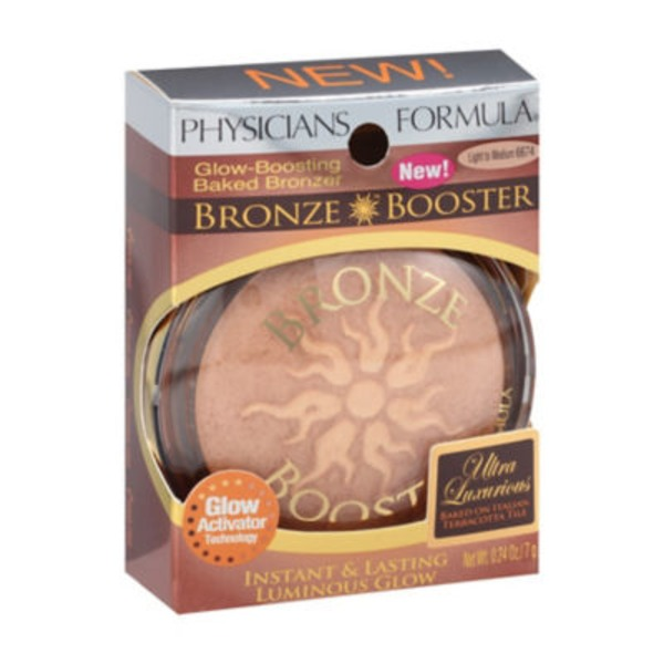 Bronze Booster Light to Medium 6674 Bronze Booster Glow-Boosting Baked Bronzer